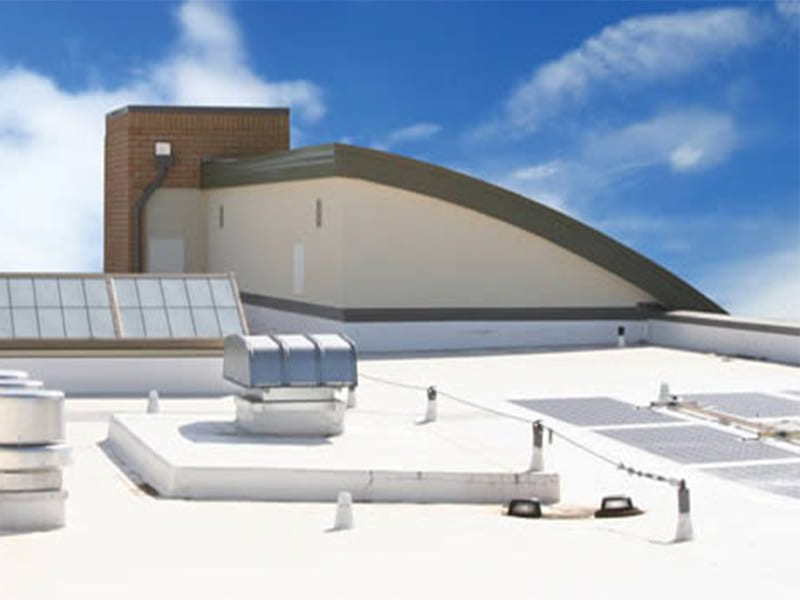 leaking roof polyurea roof coating expandothane - CHOOSING THE RIGHT PROJECTS
